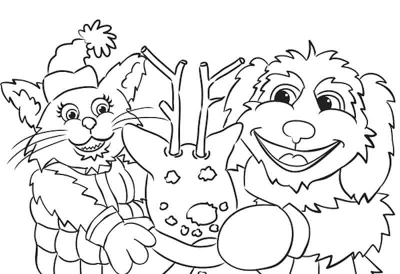 December 2017 Coloring Contest